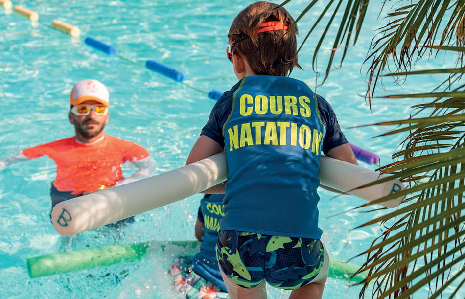 Cours de natation (options payantes)