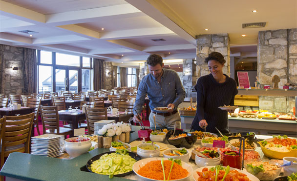 Restauration en buffet