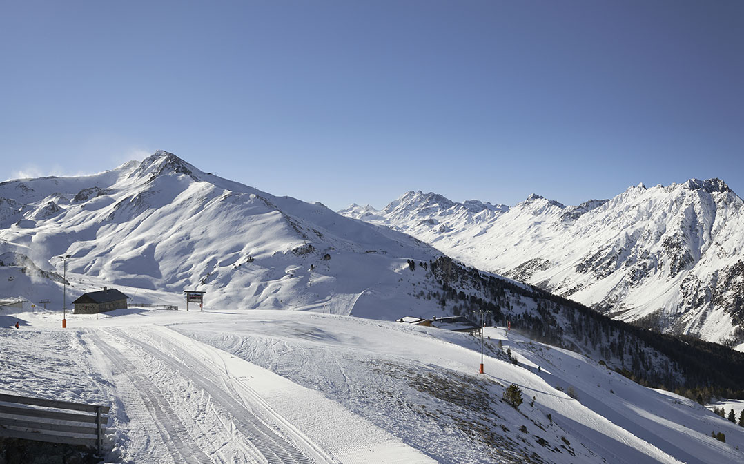 Image montagne hiver