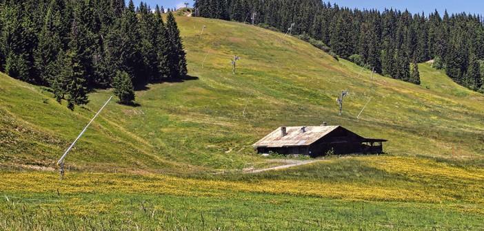 Le désert de Platé en Haute-Savoie, un site idéal pour des randonnées insolites