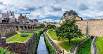 Villes et villages fleuris de Bretagne.