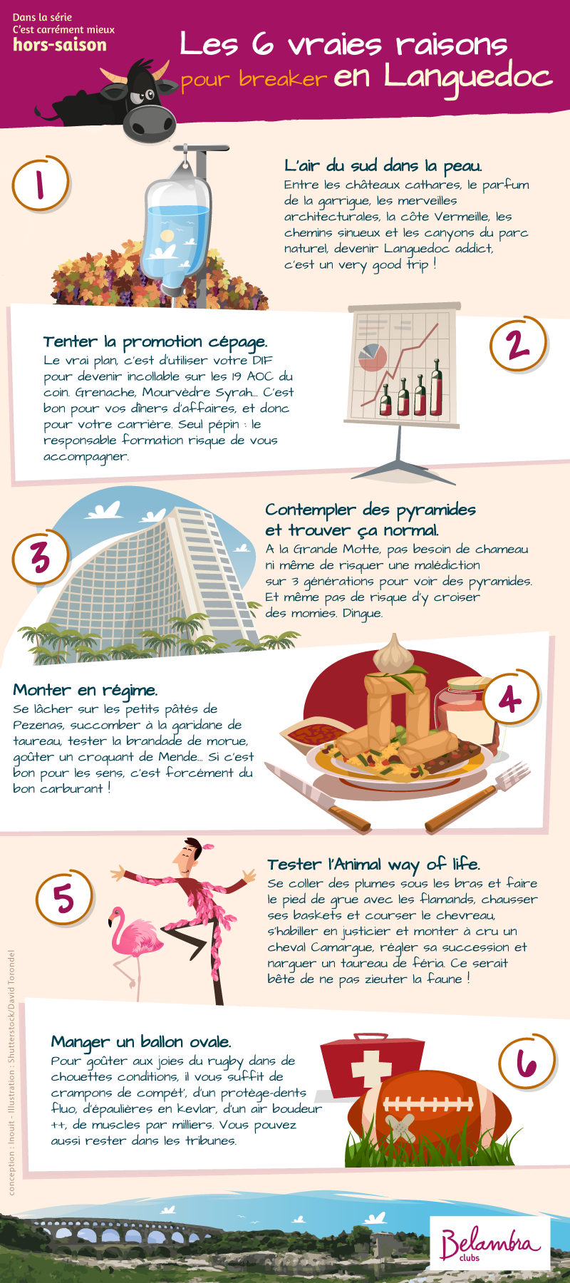 Les 6 vraies raisons pour breaker en Languedoc