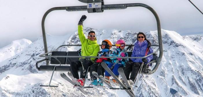 Vacances au ski : les Ménuires en famille