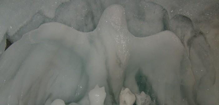 Les glaciers et les grottes de glace de la Meije