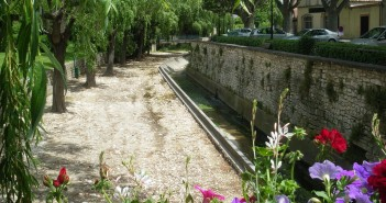 Pernes les Fontaines, ville d'eau