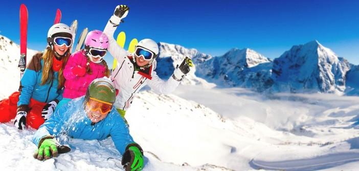 Skier durant les vacances de la Toussaint