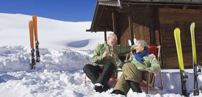 Le ski et les seniors : choisir la station idéale