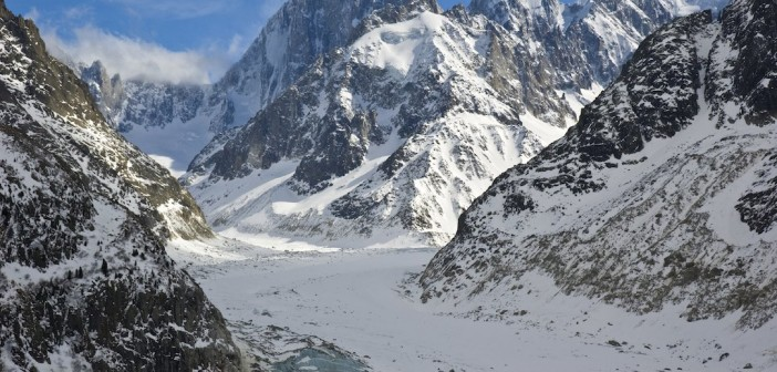 Le glacier de la Mer de Glace, trésors de la vallée de Chamonix