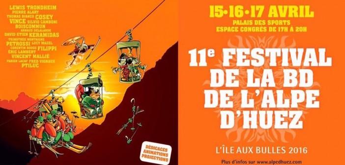 Festival de BD de l'Alpe d'Huez 2016