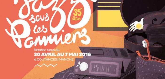 Jazz sous les pommiers: Coutances fête le jazz du 30 avril au 7 mai 2016