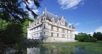 Château d'Azay-le-Rideau : histoire au bord de l'eau