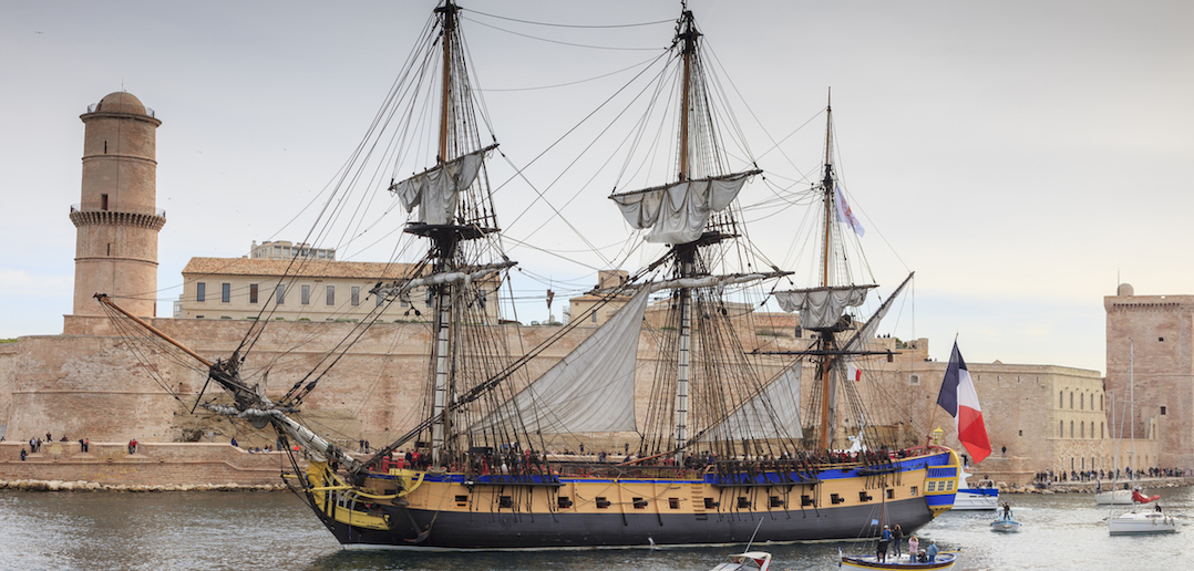 L'Hermione : la reconstruction d'un navire d'exception