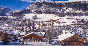 Champions et leur station de ski