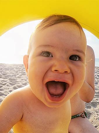 Vacances avec bébé cet été